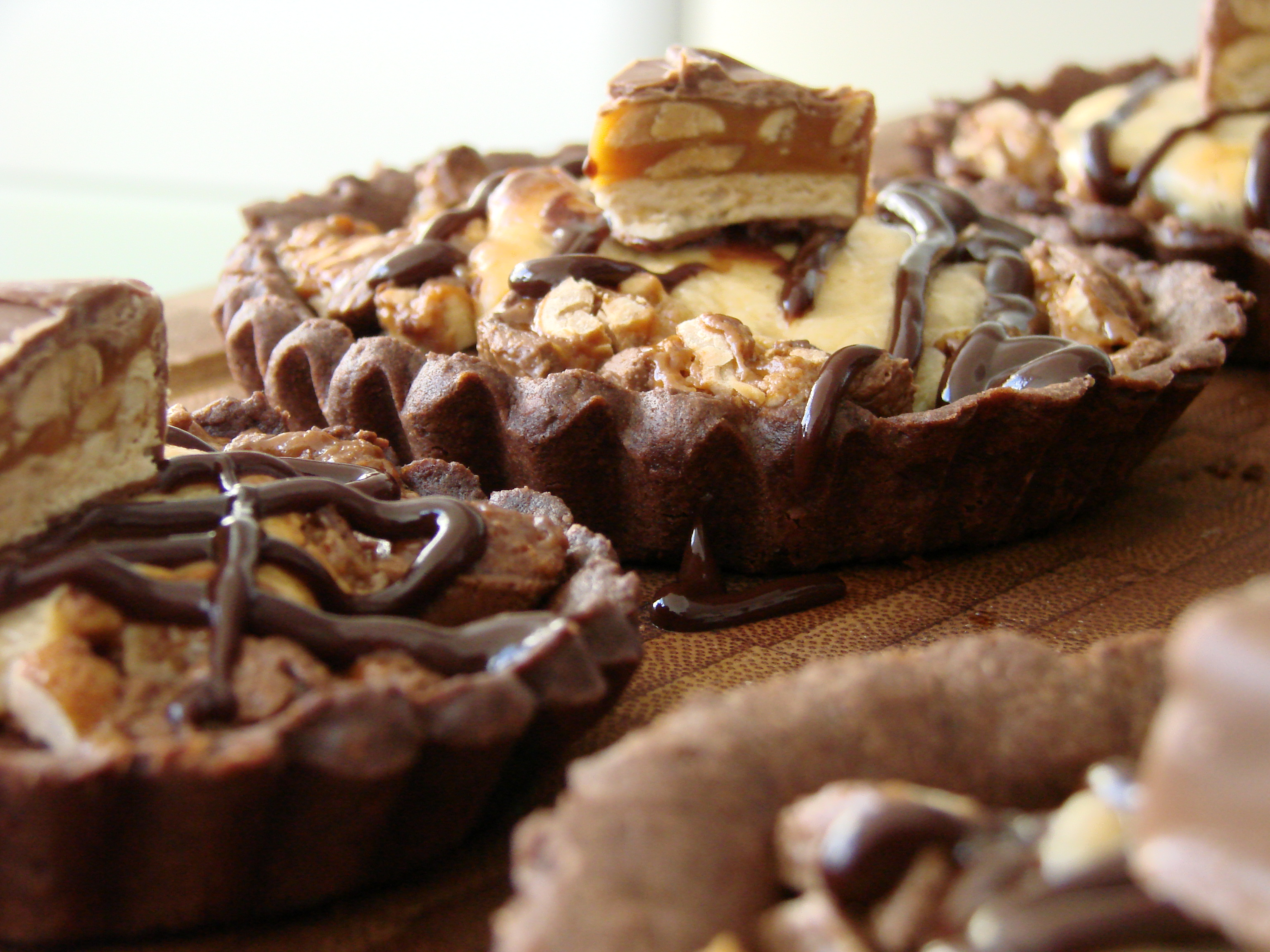Snickers-Tartelettes